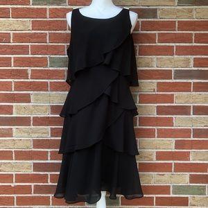 ☀️ dressbarn Signature Tessa Tiered Midi Dress